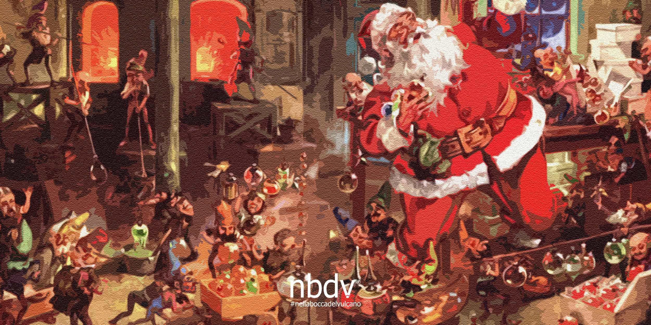 Babbo Natale E Gli Elfi.La Fantastica Intervista Ai Folletti Di Babbo Natale Nbdv